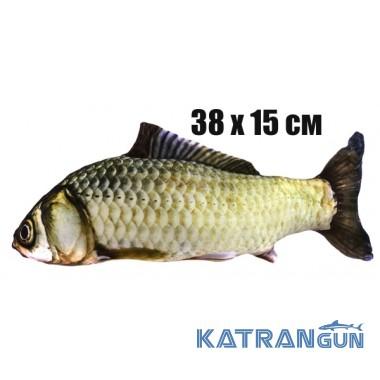 Подушка-игрушка Карась (38х15 см)