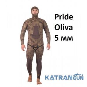 Гідрокостюм анатомічний Marlin Pride Oliva 5 мм