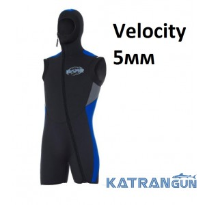 Куртка для дайвинга Bare Velocity 5мм