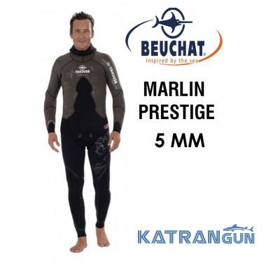 Лучшие гидрокостюмы для подводной охоты Beuchat Marlin Prestige  5 мм