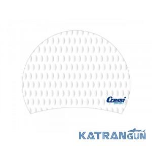Женская шапочка для бассейна Cressi Sub Lady Cap white