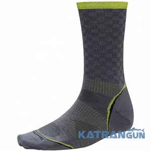 Термоноски на лето Smartwool PhD Cycle Ultra Light Pattern Crew
