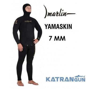 Гидрокостюм из неопрена ямамото Marlin Yamaskin 7 мм