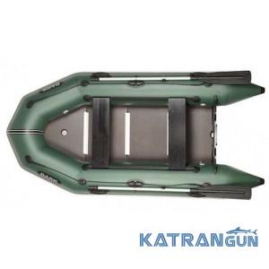 Надувная лодка барк BT-290SD, скользящие сиденья