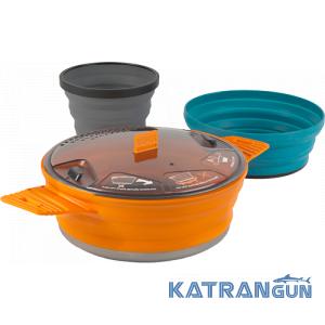 Набор посуды Sea To Summit X-Pot 1.4L + X -bowl + X Mug
