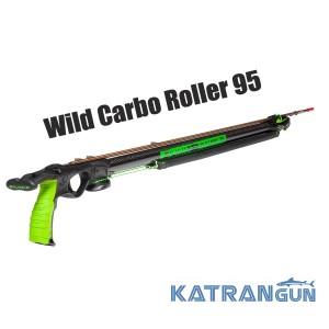 Роллерный арбалет для подводной охоты Salvimar Wild Carbo Roller 95