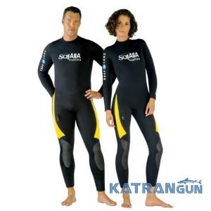 Гидрокостюм мужской для дайвинга Aqua Lung Safaga 7+5MM