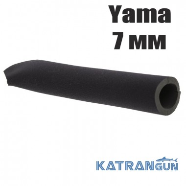 Гульфик для гидрокостюма Marlin black Yama 7 мм