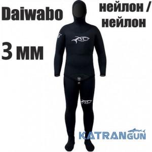 Гідрокостюм для фрідайвінгу XT Diving Pro Daiwabo 3 мм; нейлон / нейлон