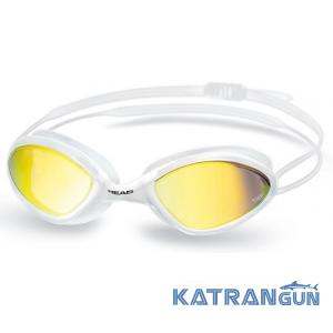 Стартові плавальні окуляри Head Tiger Race LSR + дзеркальне покриття