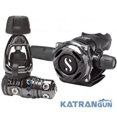 Регулятор для дайвінгу Scubapro MK25 EVO / A700 Carbon Black Tech