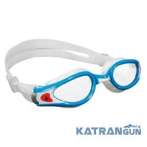 Очки для плавания Aqua Sphere Kaiman Exo Small; прозрачные линзы