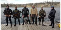 Тренування з фрідайвінгу в Дніпрі на Новомиколаївському кар'єрі