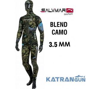 Гідрокостюм для підводного полювання Salvimar Blend Camo 3,5 мм
