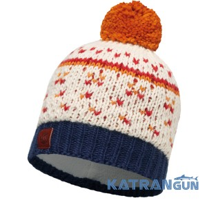 Тепла шапка з веселим дизайном Buff Knitted & Polar Hat Ethel Cru