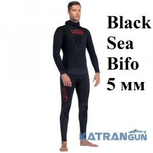 Гидрокостюм Omer Black Sea Bifo 5 мм