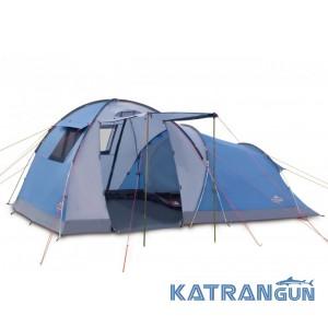Палатка кемпинговая высокая Pinguin Omega 4, Blue