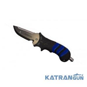 Нож для дайвинга Halcyon H Titanium angled
