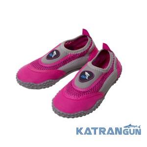 Аквашузы женские IST Aqua Shoes, Gray/Pink