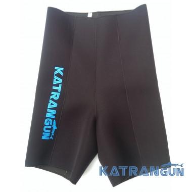 Неопреновые шорты для подводной охоты KatranGun 3 мм; нейлон/открытая пора