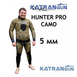 Гідрокостюм для весни та літа KatranGun Hunter Pro Camo 5 мм