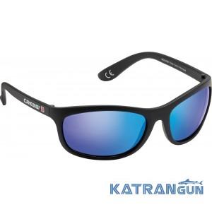 Солнцезащитные очки Cressi Sub Rocker зеркальные стекла, синие
