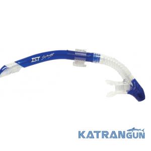 Трубка для дайвинга IST SNK20, синяя
