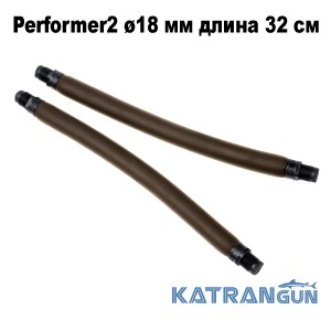 Тяги парні для арбалета Omer Performer2 ø18 мм довжина 32 см; різьбовий зачіп 16 мм