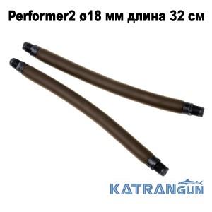 Тяги парные для арбалета Omer Performer2 ø18 мм длина 32 см; резьбовой зацеп 16 мм