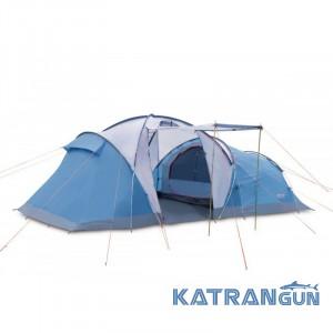 Палатка 2-х комнатная Pinguin Omega 6, Blue