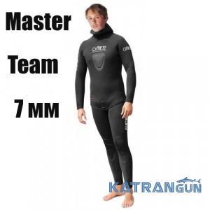 Мисливський гідрокостюм Omer Master Team 7 мм, штани з лямками