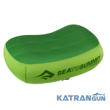 Подушка для кемпинга Sea To Summit Aeros Premium Pillow Large Lime