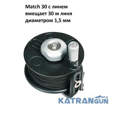 Котушка для підводної рушниці Omer Match 30, з лінем