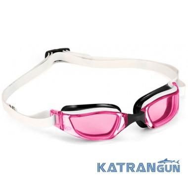Женские стартовые очки Michael Phelps Xceed Lady; линзы розовые