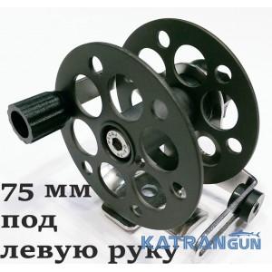 Катушка подводного ружья Pelengas 75 мм; металлическая; универсальная; под левую руку