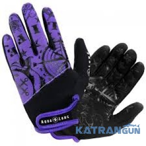 Женские перчатки для дайвинга AquaLung Admiral III; толщина 2 мм