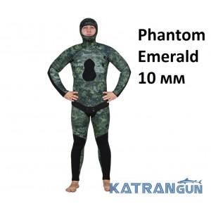 Гідрокостюм зимовий Marlin Phantom Emerald 10 мм