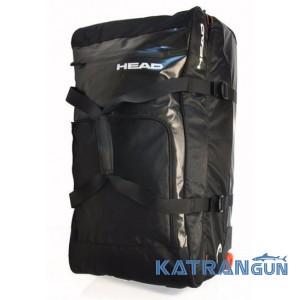 Сумка для подорожей на колесах Head Travel Bag, чорна