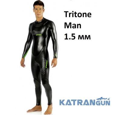 Гідрокостюм для підводного плавання Cressi Sub Tritone Man 1.5 мм