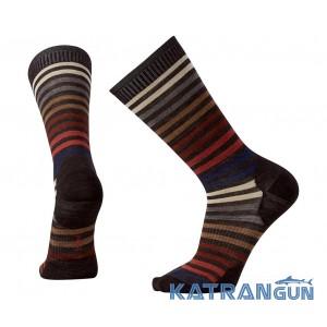 Комфортні чоловічі шкарпетки на кожен день SmartWool Men's Spruce Street Crew