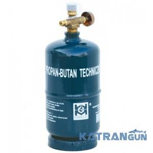 Балон газовий який перезаправляється GZWM BT-0,5 Camping cylinder 1,2L