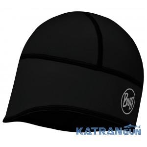 Ветрозащитная шапка-подшлемник Buff Windproof Tech Fleece Hat solid black
