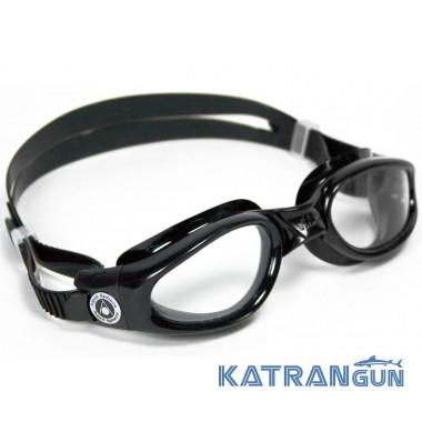 Чоловічі окуляри для плавання Aqua Sphere Kaiman, Сlear lens / black