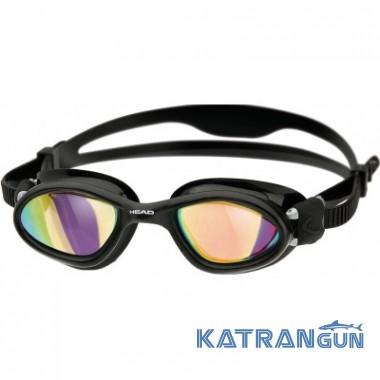 Плавательные очки Head Superflex + зеркальное покрытие