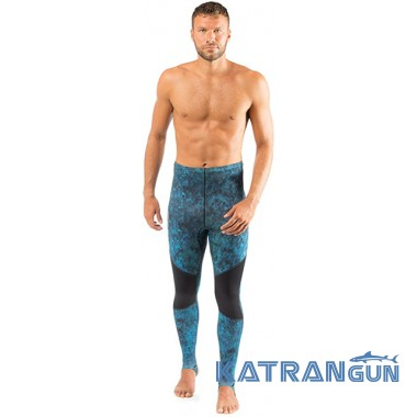 Лайкровые камуфляжные штаны Cressi Blue Hunter