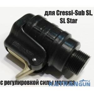 Магнитный линесбрасыватель для Cressi-Sub SL / SL Star; с регулировкой силы магнита (производитель Pelengas)