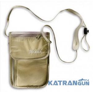 Нагрудний гаманець для документів Tatonka Skin Neck Pouch Natural