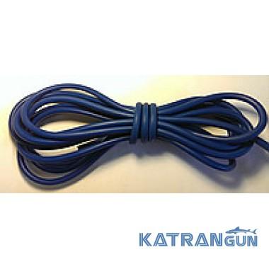 Латексные трубки для слингов, бандажей в бухтах BS Diver (на метраж), 9мм на 5мм, синяя