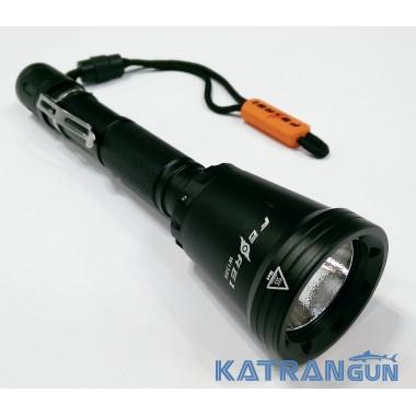 Подводный фонарь Ferei W158 II (реальных 1000 Lm; холодный свет)