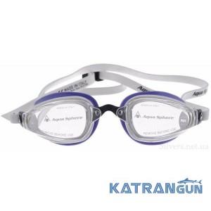 Окуляри для плавання Michael Phelps K180 Lady; лінзи прозорі